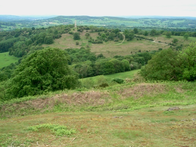 Western slopes of Midsummer Hill - geograph.org.uk - 469313