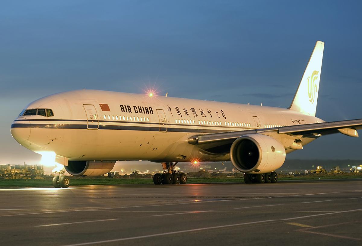 """File:""""Air China"""" B-777 B-2067 (3237371532)."""