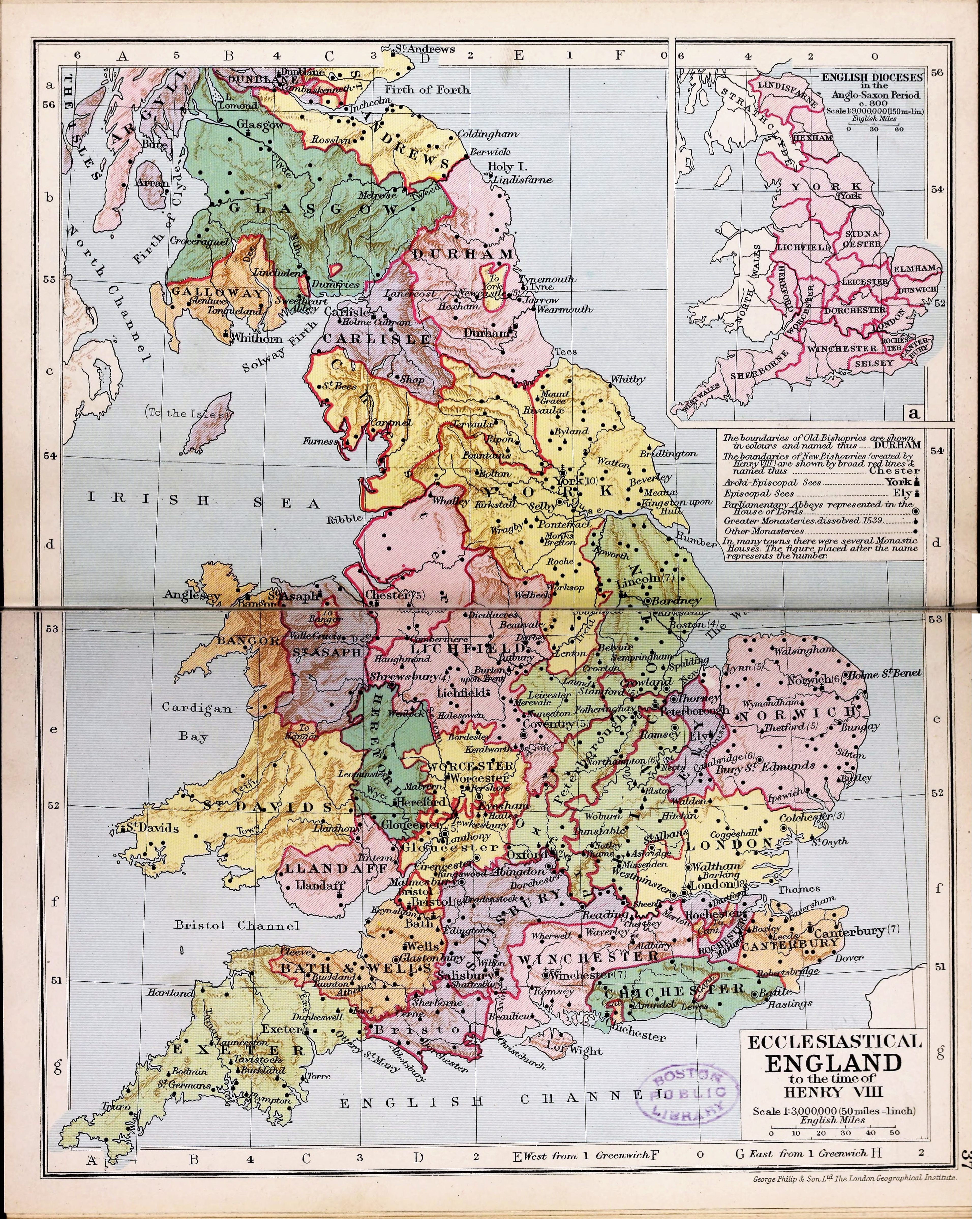 Map Of England Henry Viii.File Ecclesiastical England At The Time Of Henry Viii Png