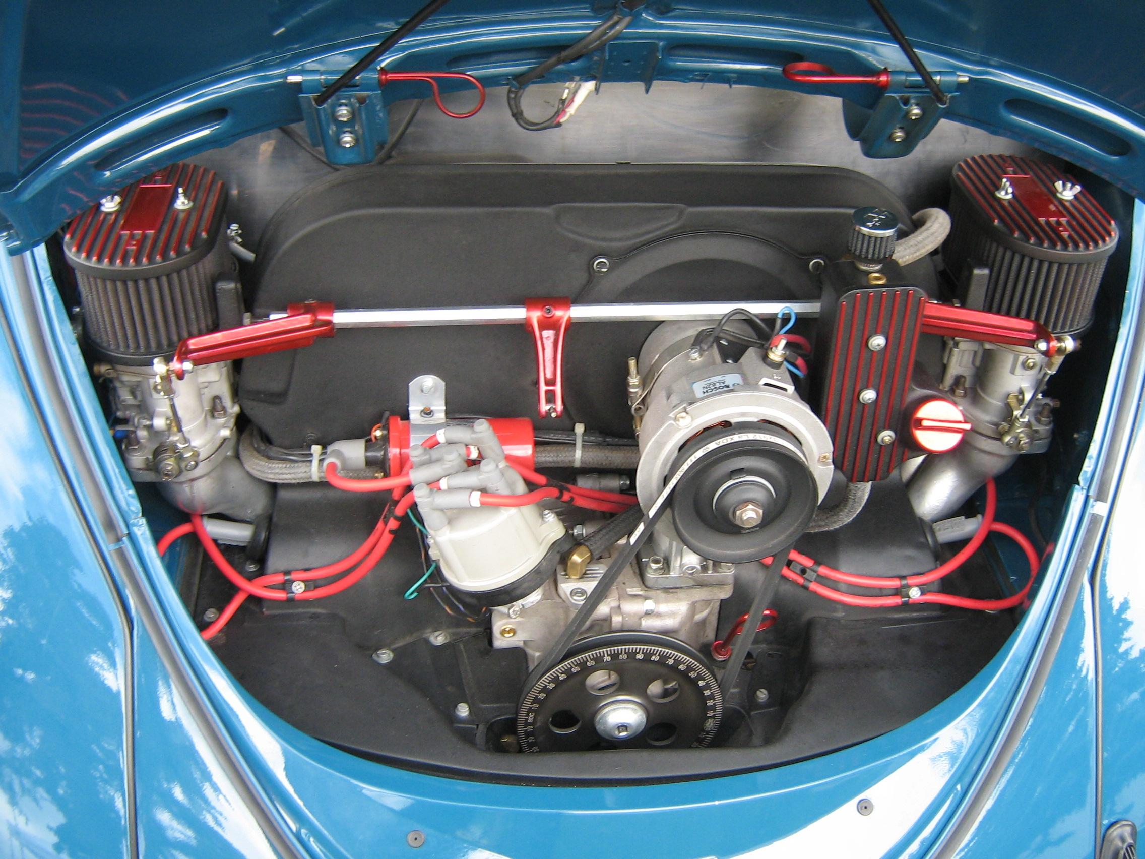 Volkswagen beetle engine size