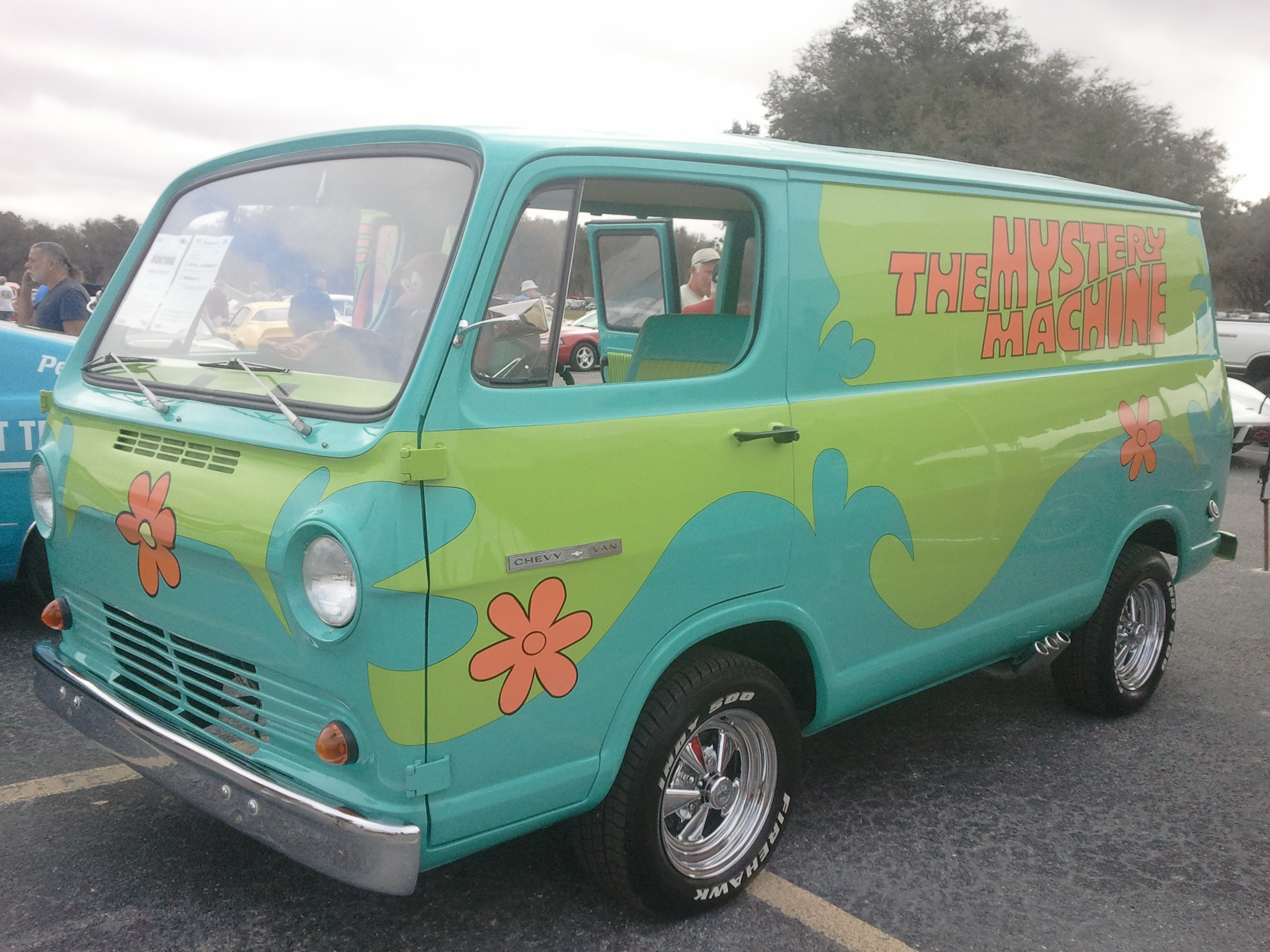 what of was the mystery machine