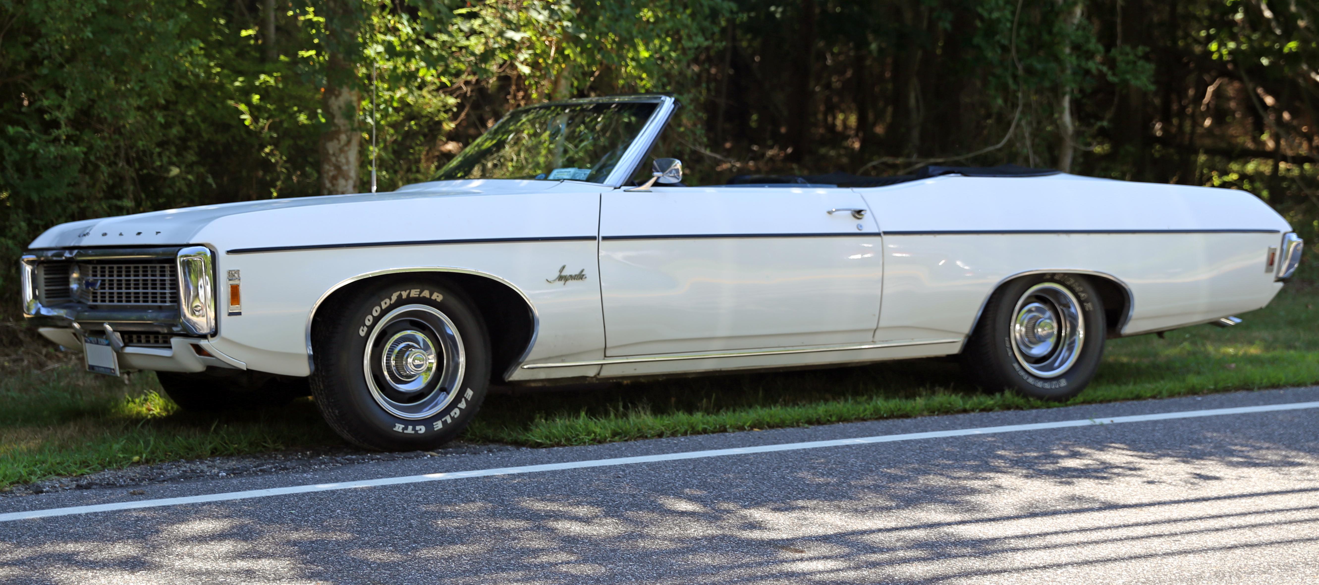 1969 Chevy Impala Convertible Carnutts Info