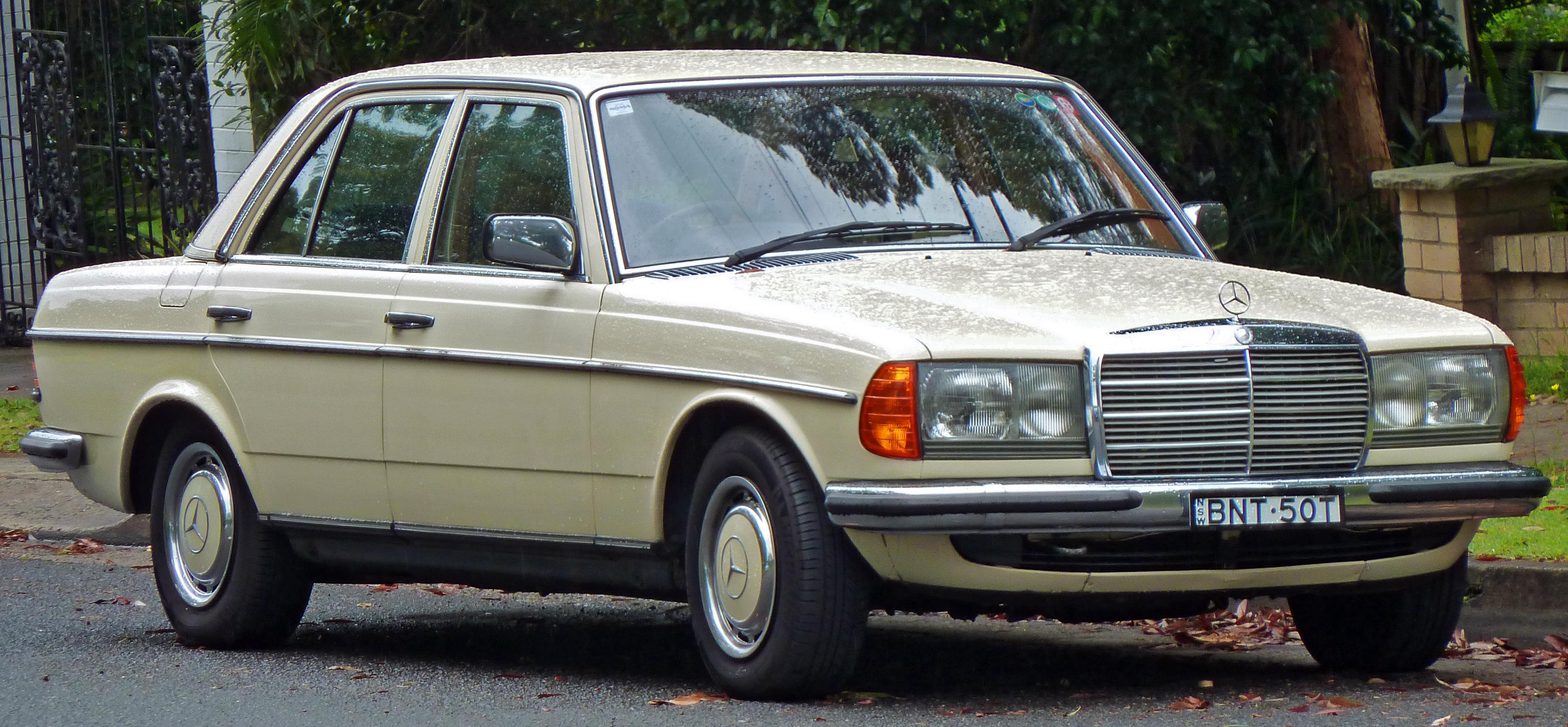 File 1979 mercedes benz 280 e w 123 sedan 2010 12 04 for Mercedes benz 1979