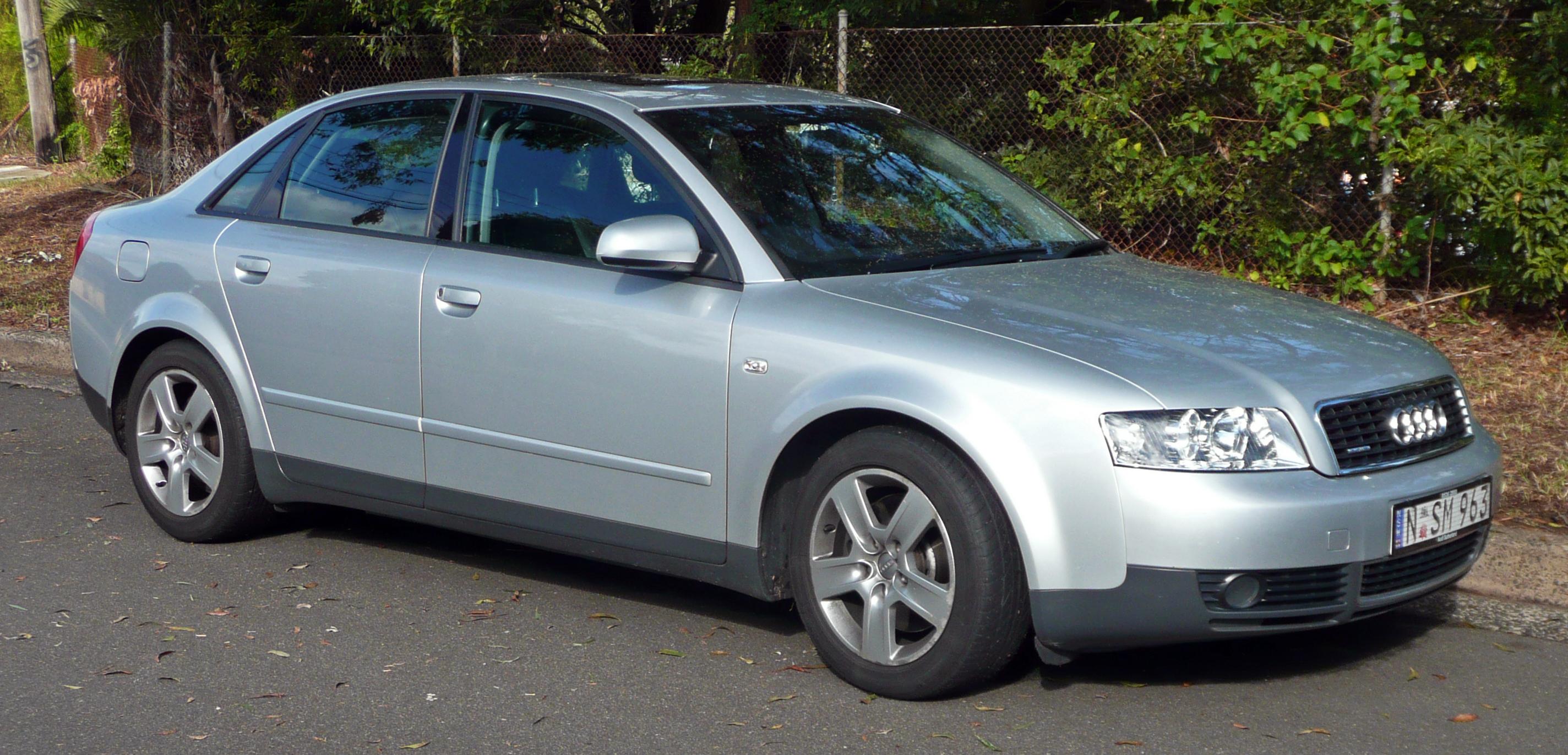 file:2001-2005 audi a4 (8e) 1.8t quattro sedan 01 - wikimedia