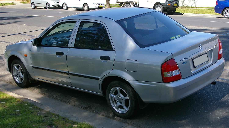 File:2002 - 2003 Mazda 323 Astina.jpg - Wikimedia Commons