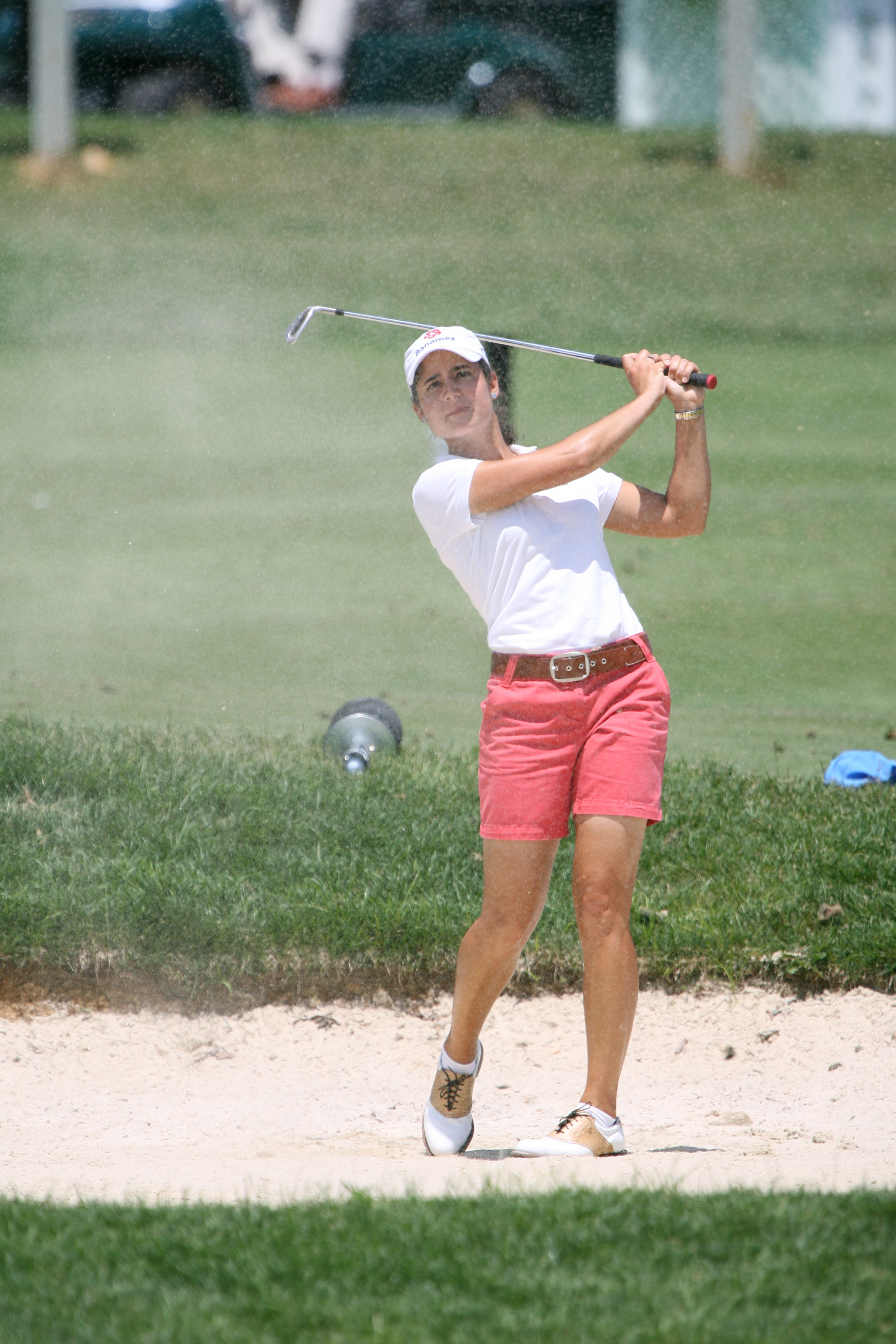 Lorena Ochoa - Golfer - Wardrobe malfunction