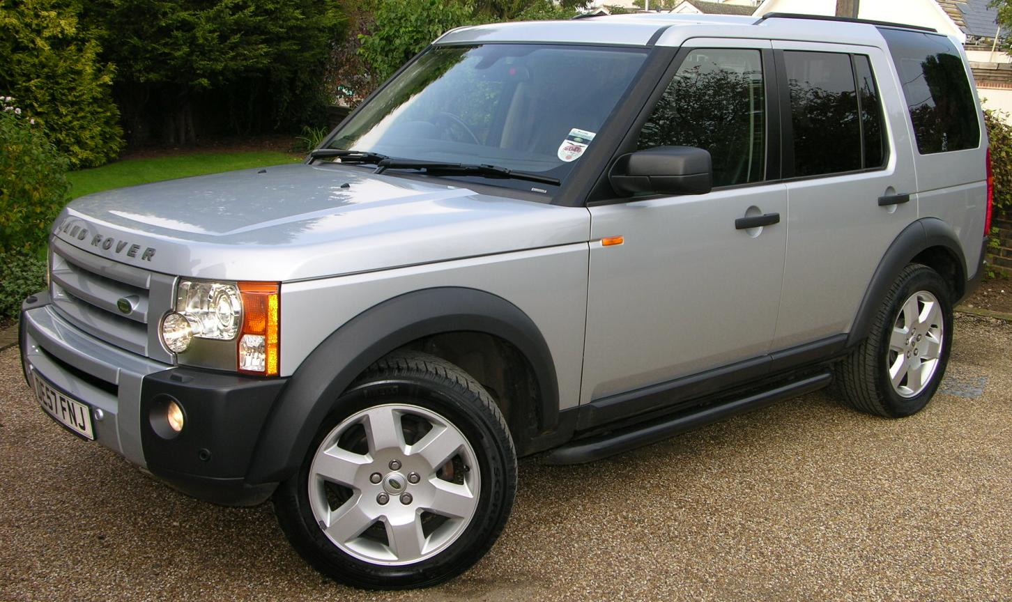 file 2007 land rover discovery 3 tdv6 hse flickr the car wikimedia commons. Black Bedroom Furniture Sets. Home Design Ideas