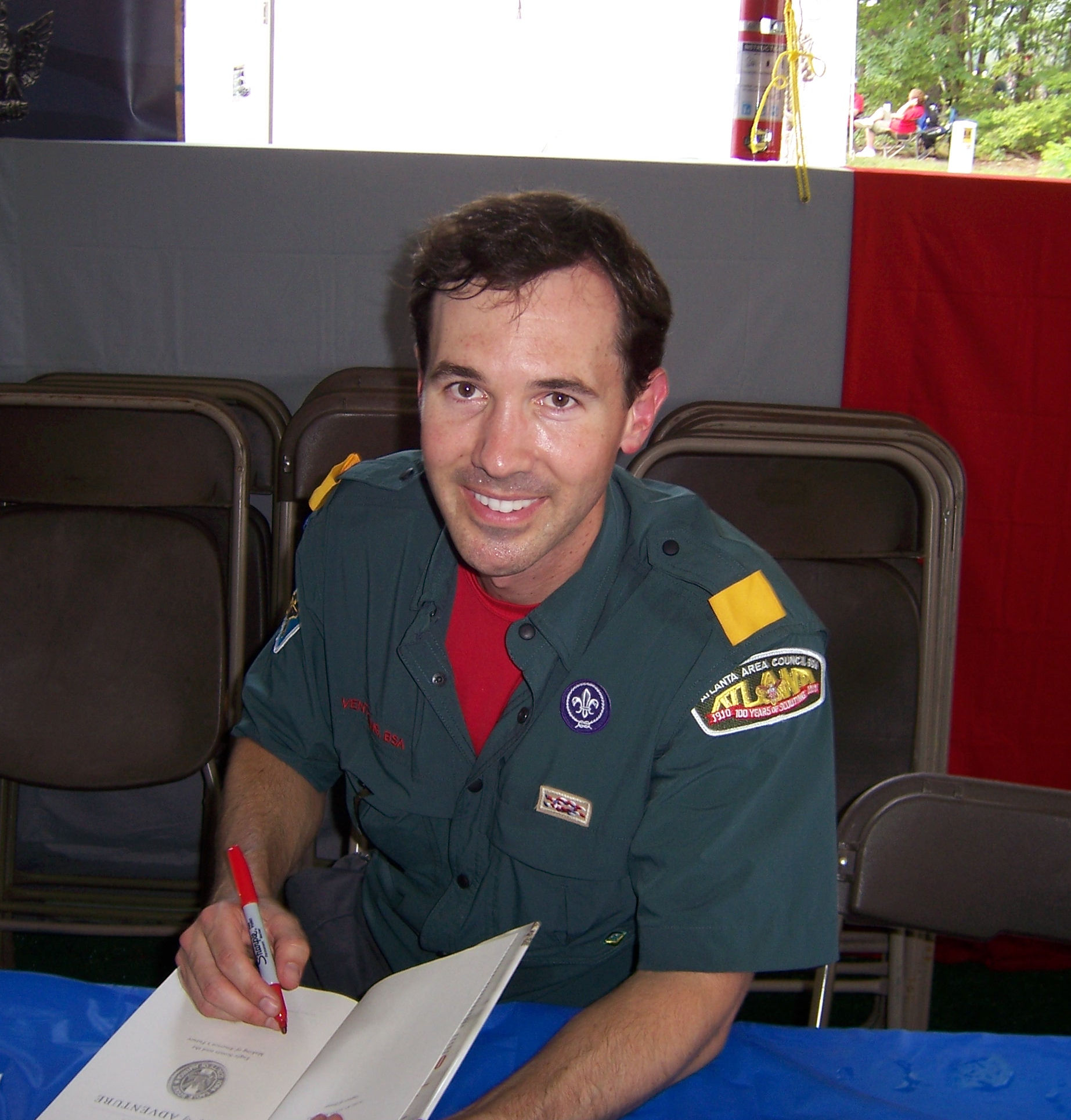 Alvin Townley at the  2010 [[National Scout Jamboree]]