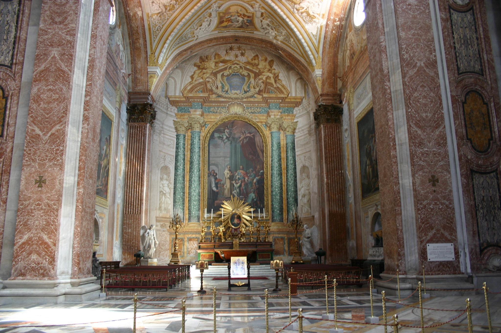File 3224 roma santa maria degli angeli interno for Interno 5 b b roma