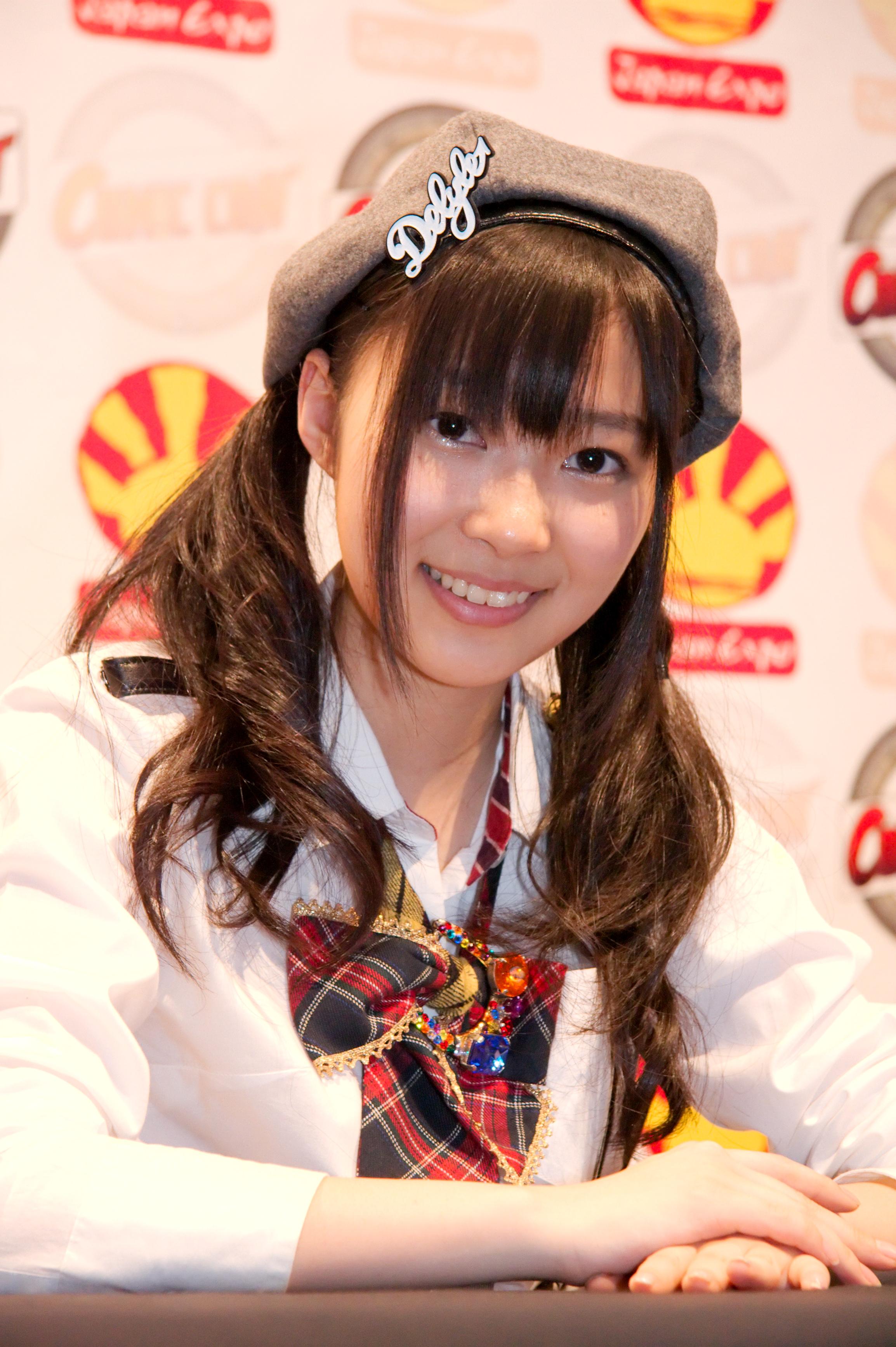 指原莉乃 AKB48 20090704 Japan Expo 22.jpg. 指原 莉乃