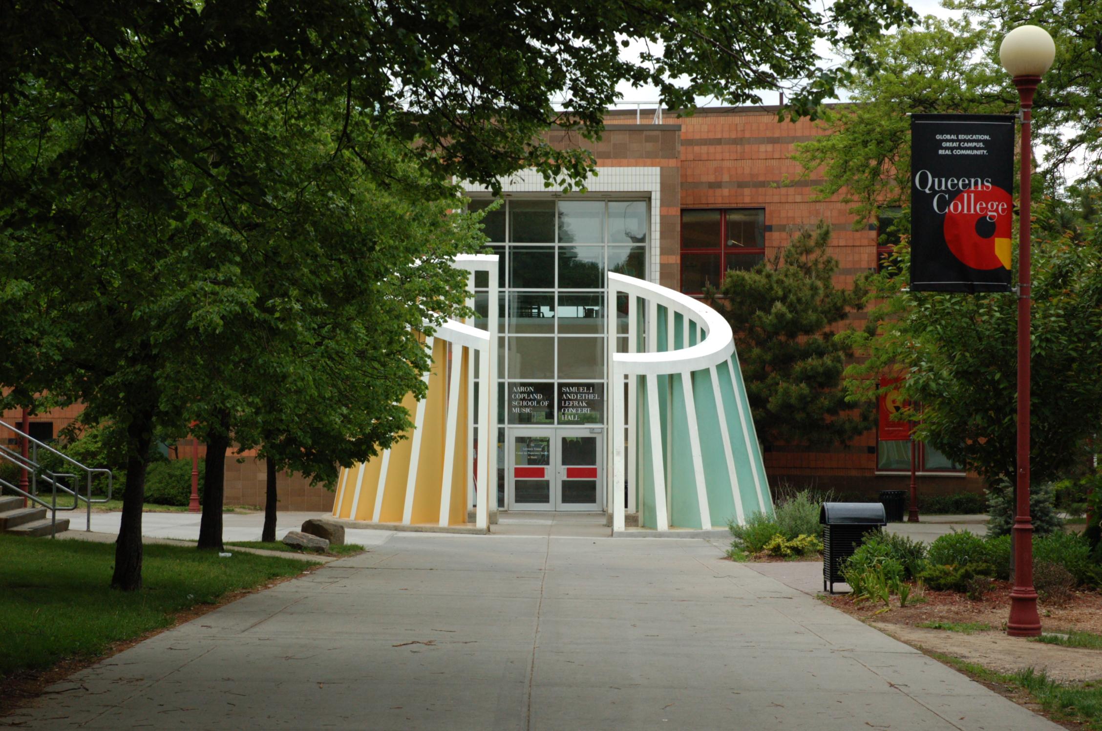 Aaron Copland School of Music, Queens College (part of the [[City University of New York