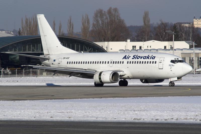 Airline Air Slovakia (Air Slovakia). Official site.