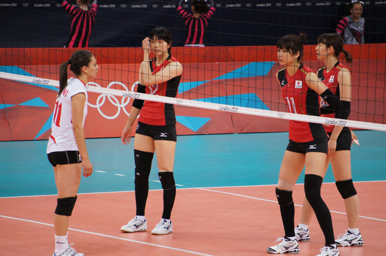 mizuno volleyball japan