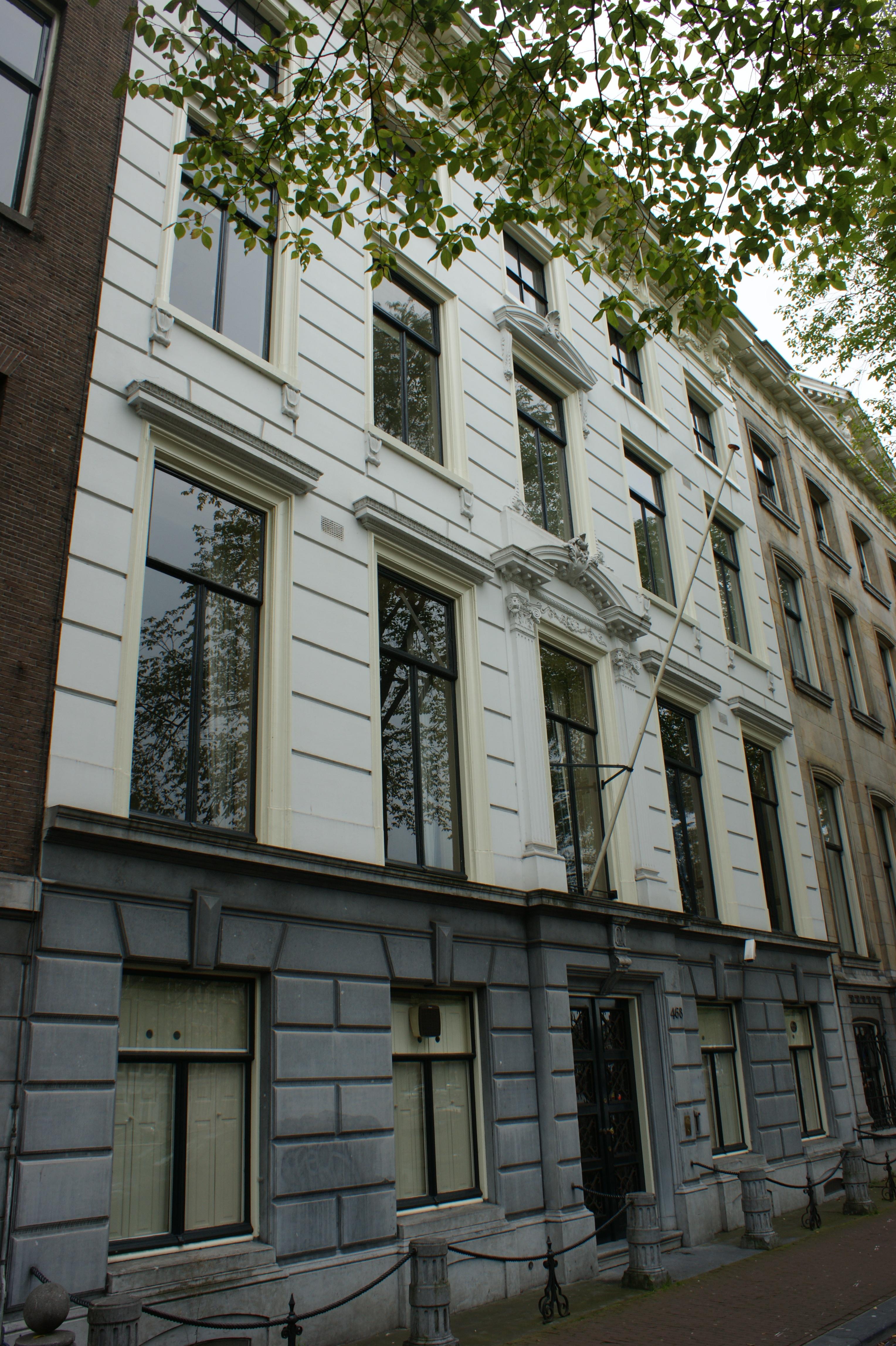 Dubbel huis met gevel met middenrisaliet in amsterdam monument - Provencaalse huis gevel ...