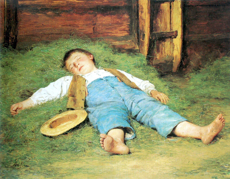 Une sieste improvisée