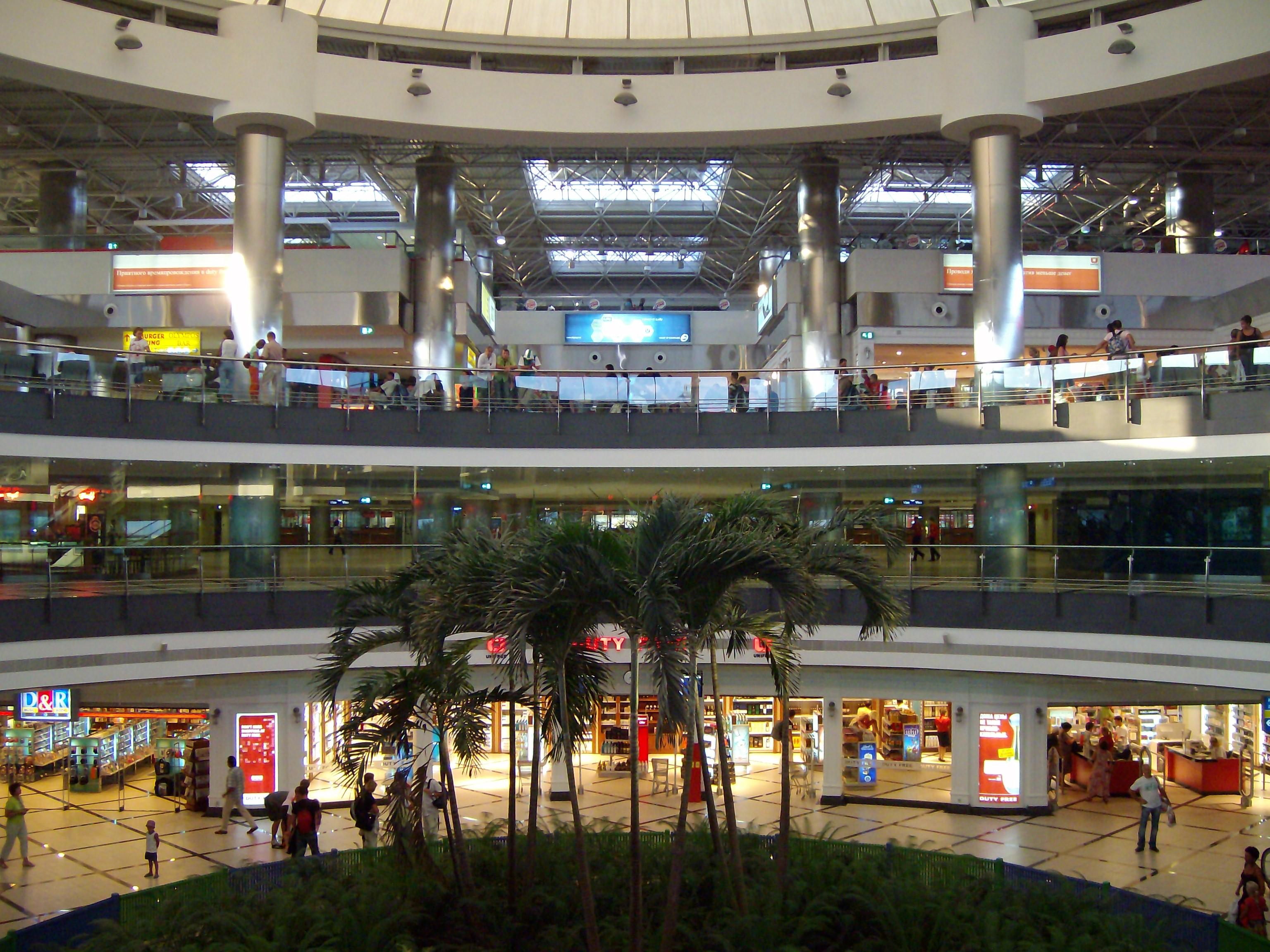 lufthavn terminal 2