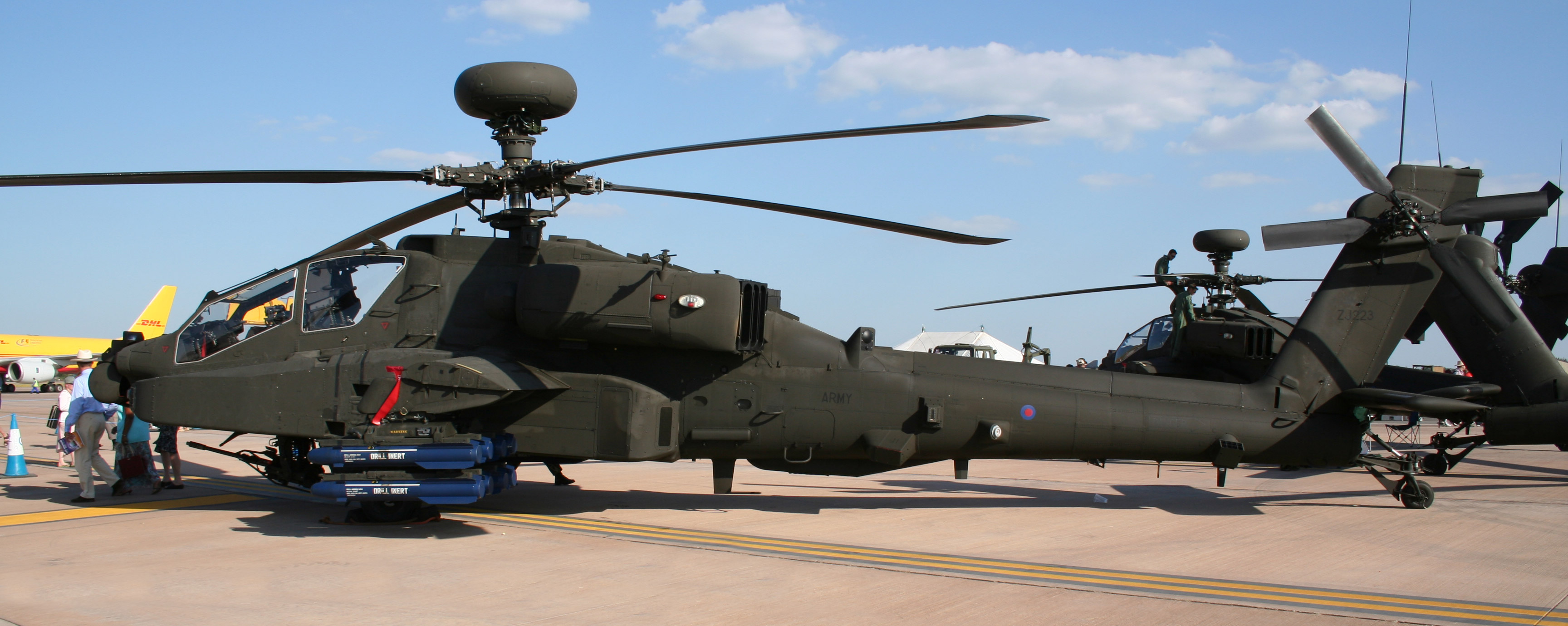 Modificaciones en los Merlin y Apache británicos - Taringa!