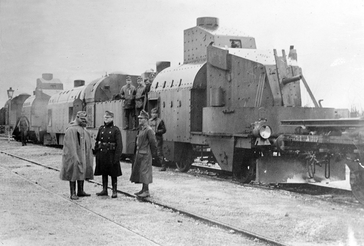 File Armoured Train 1917 Austria Jpg Wikimedia Commons