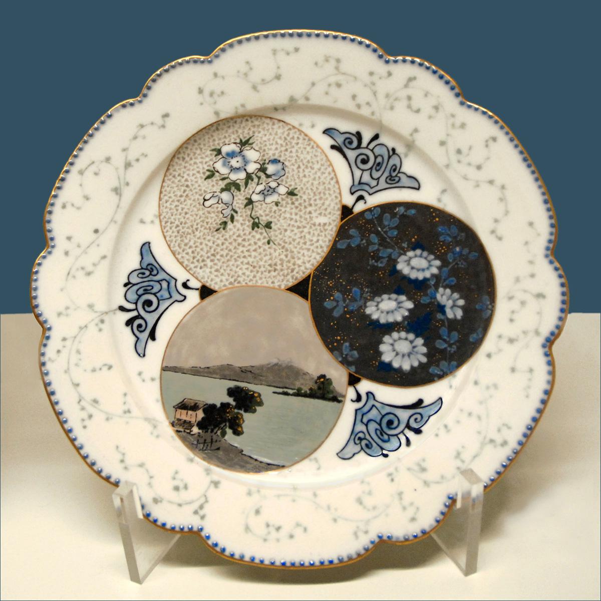 File:Assiette en porcelaine de Sèvres (musée des arts décoratifs ...