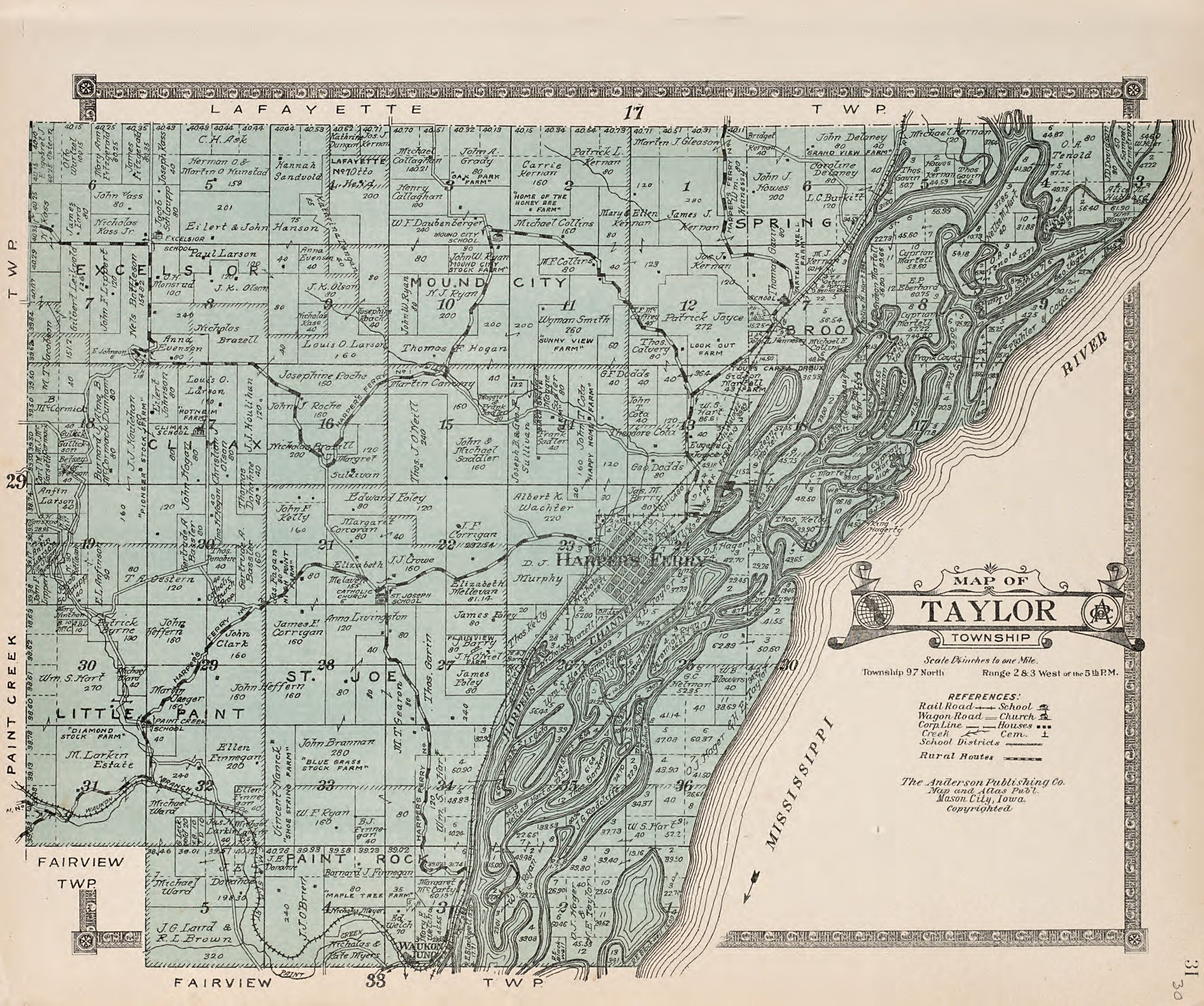 File:Atlas of Allamakee County, Iowa - containing maps of townships on
