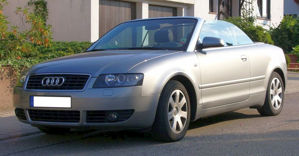 File Audi A4 B6 Cabriolet Front Jpg Wikimedia Commons