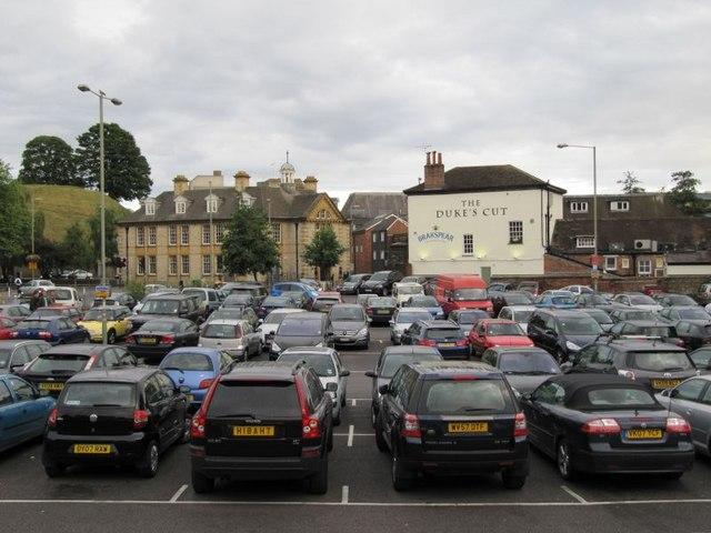 Worcester Car Park Oxford