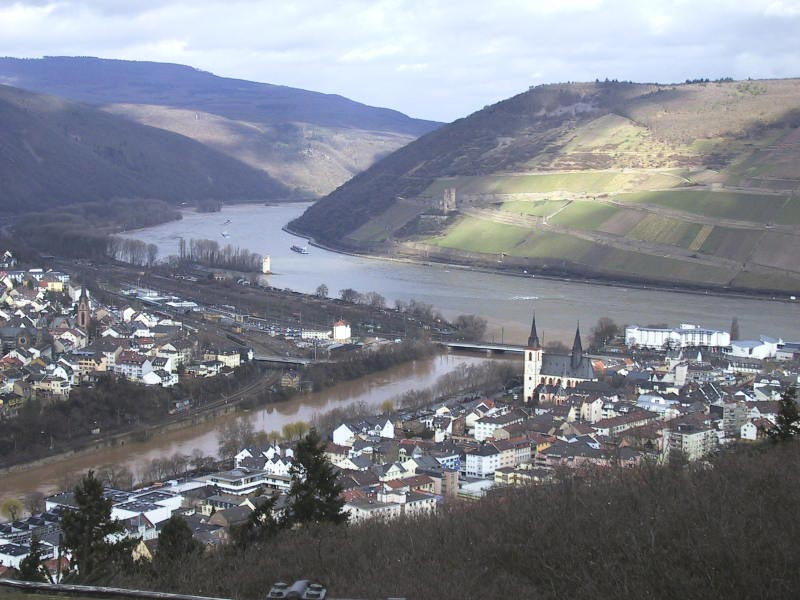 Bingen Germany Map.Bingen Am Rhein Wikipedia