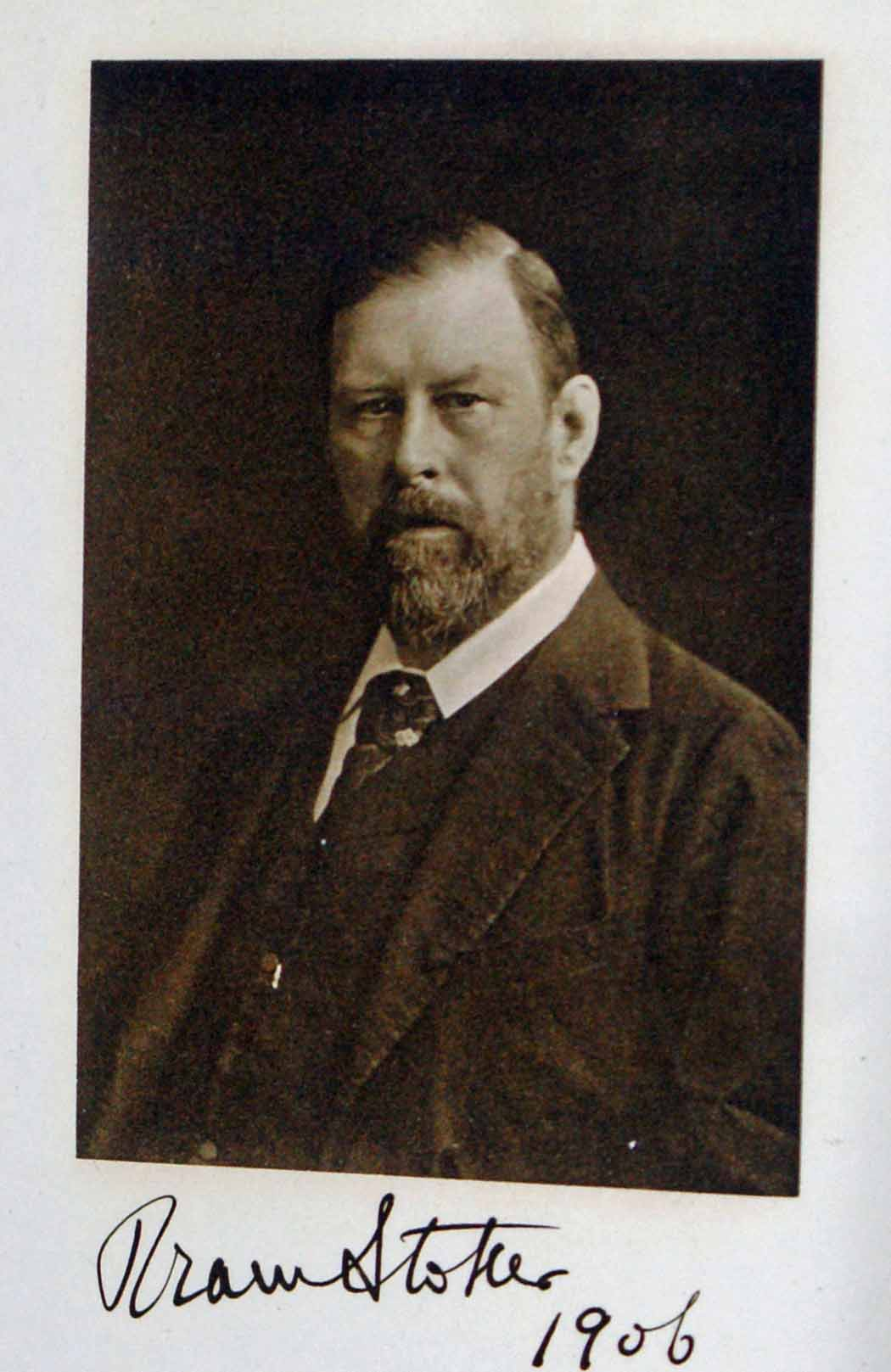 100 years ago today: the death of Bram Stoker | OUPblog