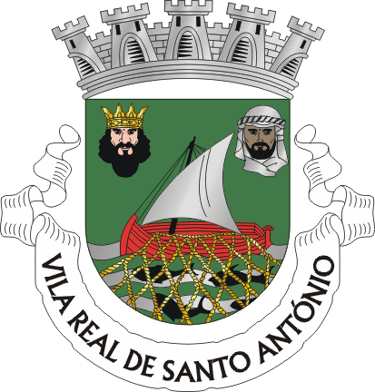 Bestand:COA of Vila Real de Santo António municipality (Portugal).png