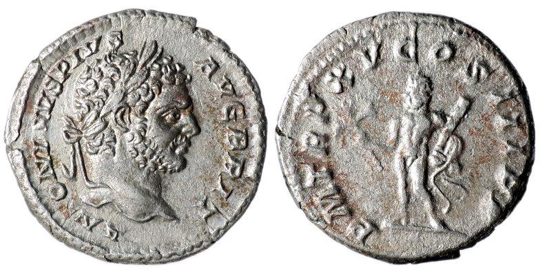 Caracalla Denarius Hercules RIC192