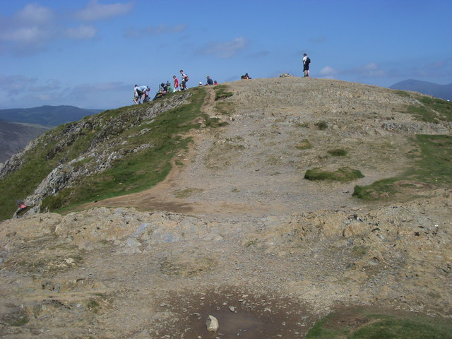 Catbells Summit - geograph.org.uk - 1514641