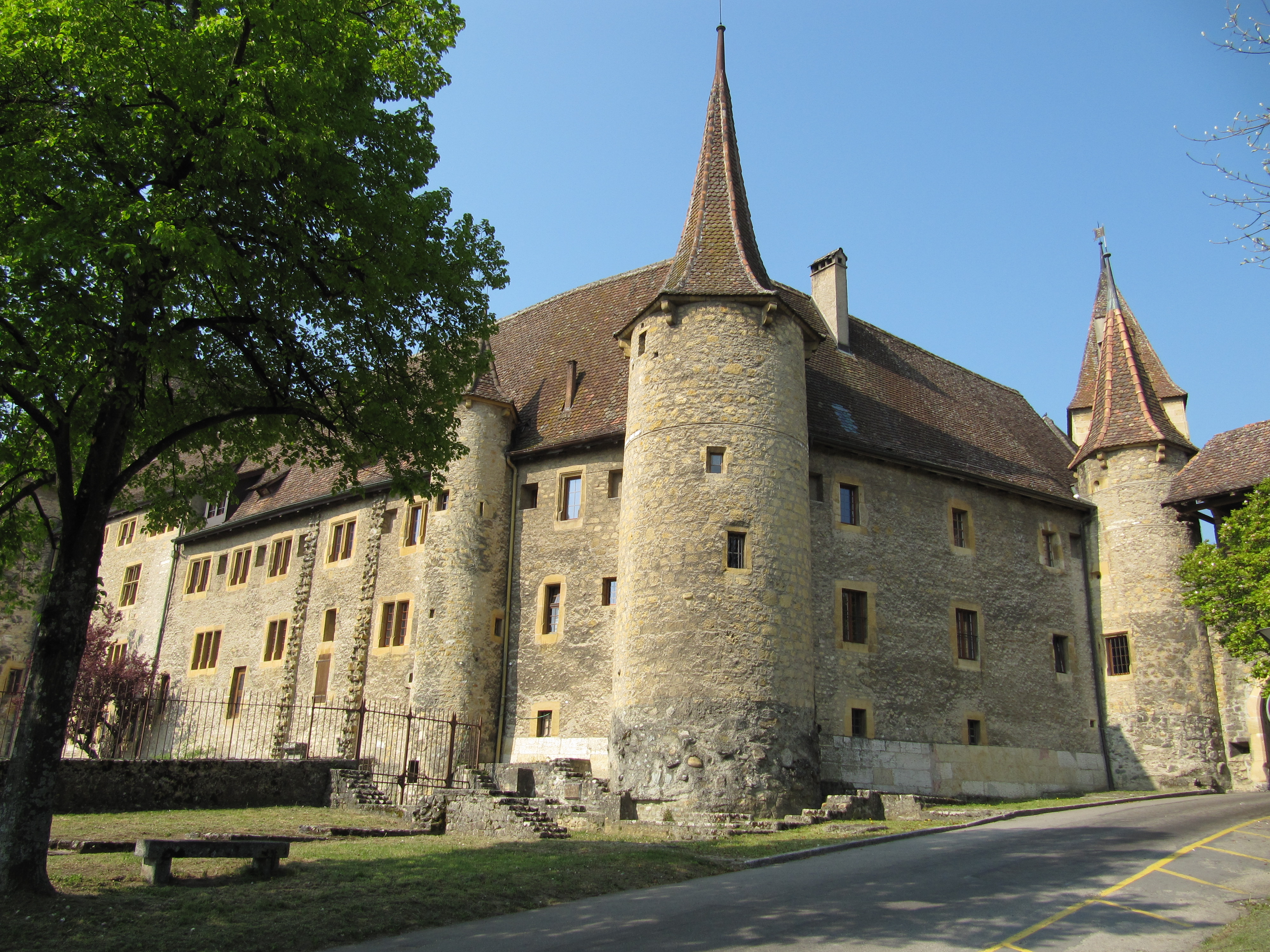 Restaurant Chateau De Courcelles