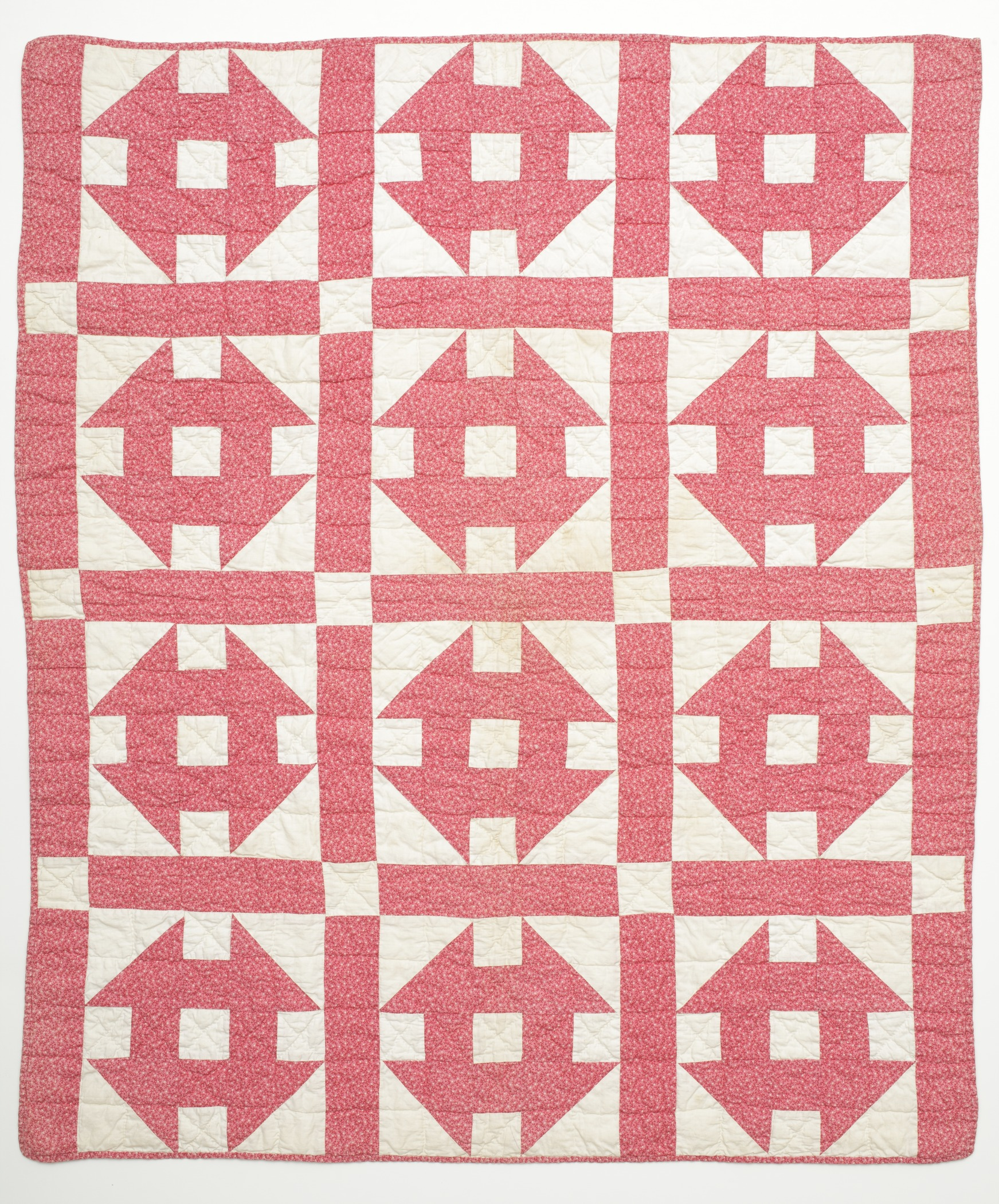 Filechilds Quilt Hole In The Barn Door Lacma M9135213 1 Of