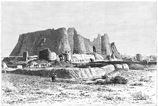 پرونده:Citadel of Varamin by Jane Dieulafoy.jpg