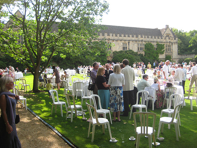 File College Garden Party Geograph Org Uk 1376328 Jpg