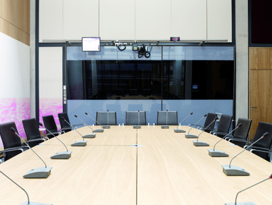 Picture Of Committee Room  At Senedd