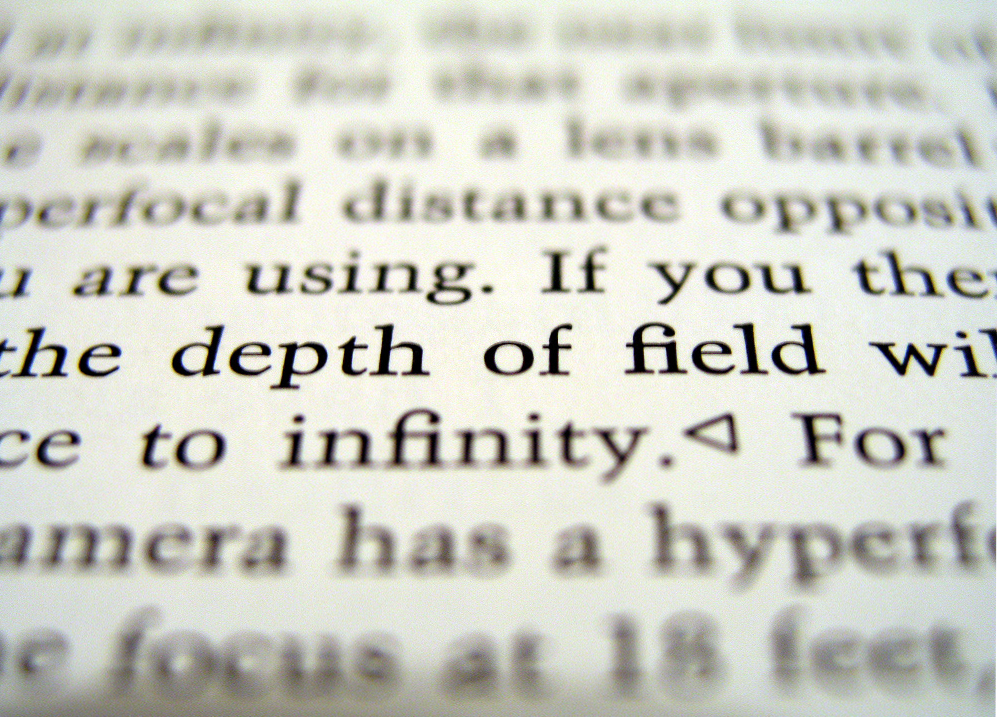 Depth of field - Wikipedia