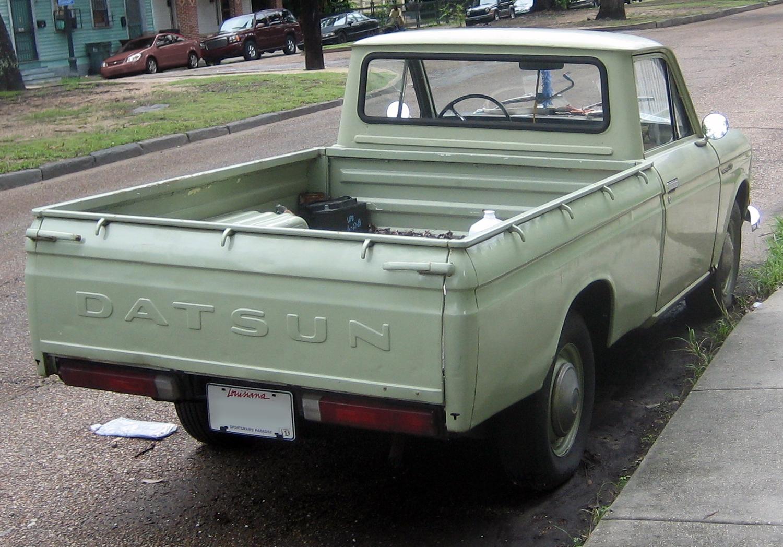 File Datsun 1300 Pickup Jpg Wikimedia Commons