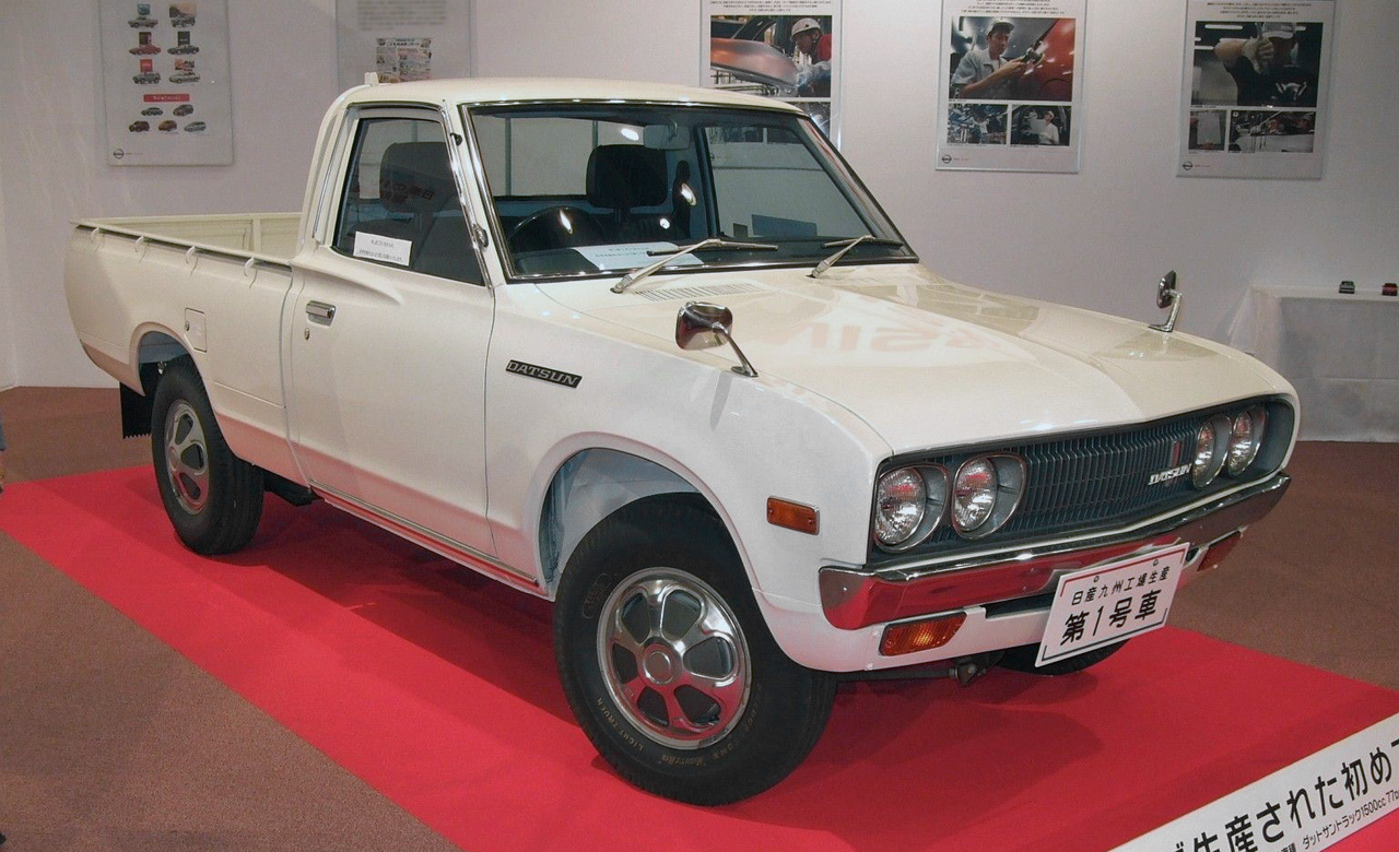 nissan datsun truck car review japanese used car blog be forward. Black Bedroom Furniture Sets. Home Design Ideas
