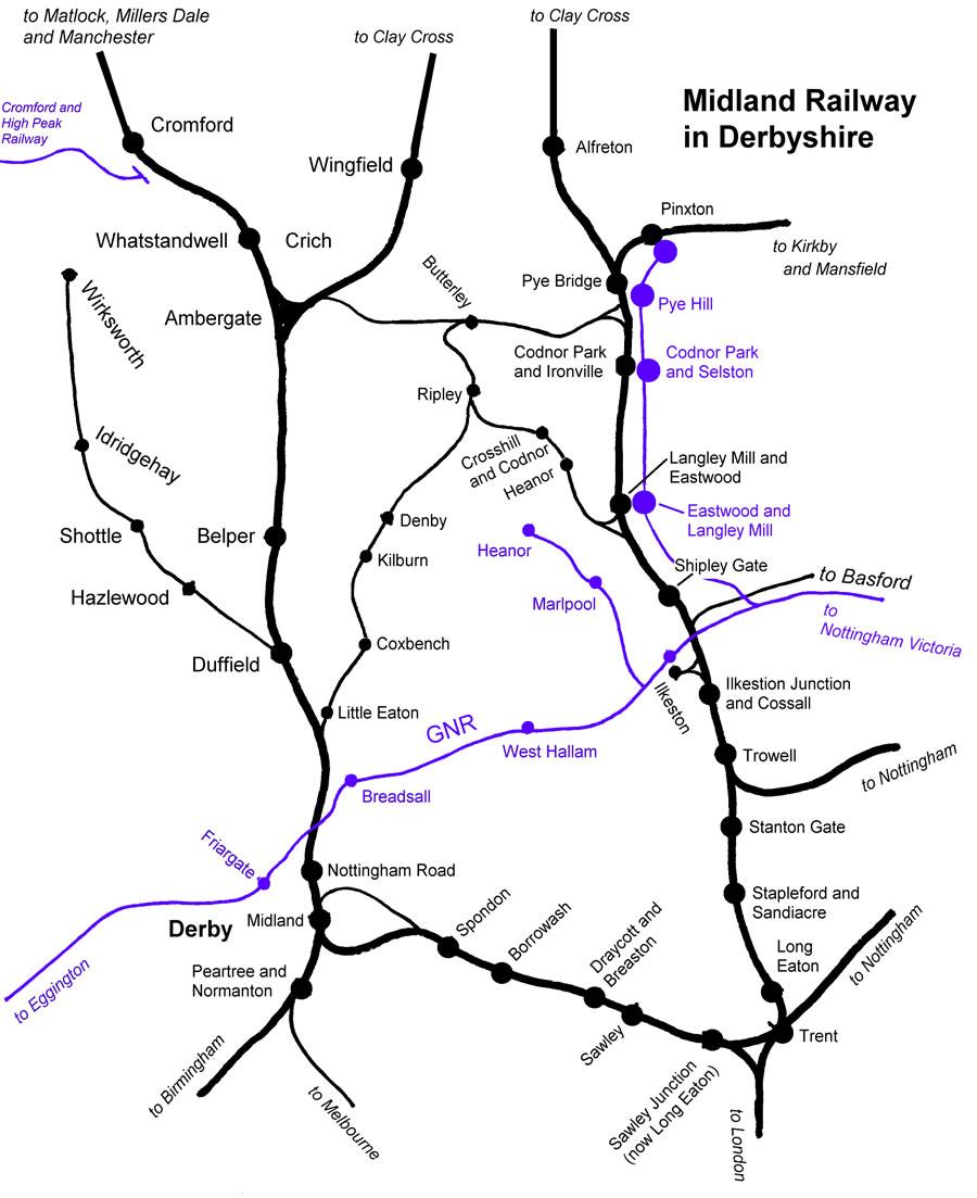 midland railway ripley branch wikipedia Train Tracks Pts Diagram