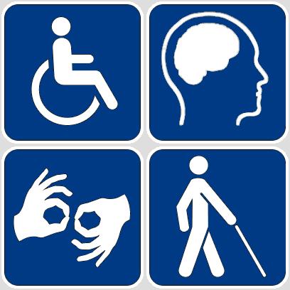 Disability symbols 16