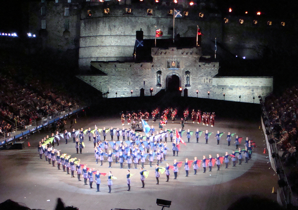 Latina Italy 2006, Edinburgh Military Tattoo 2007