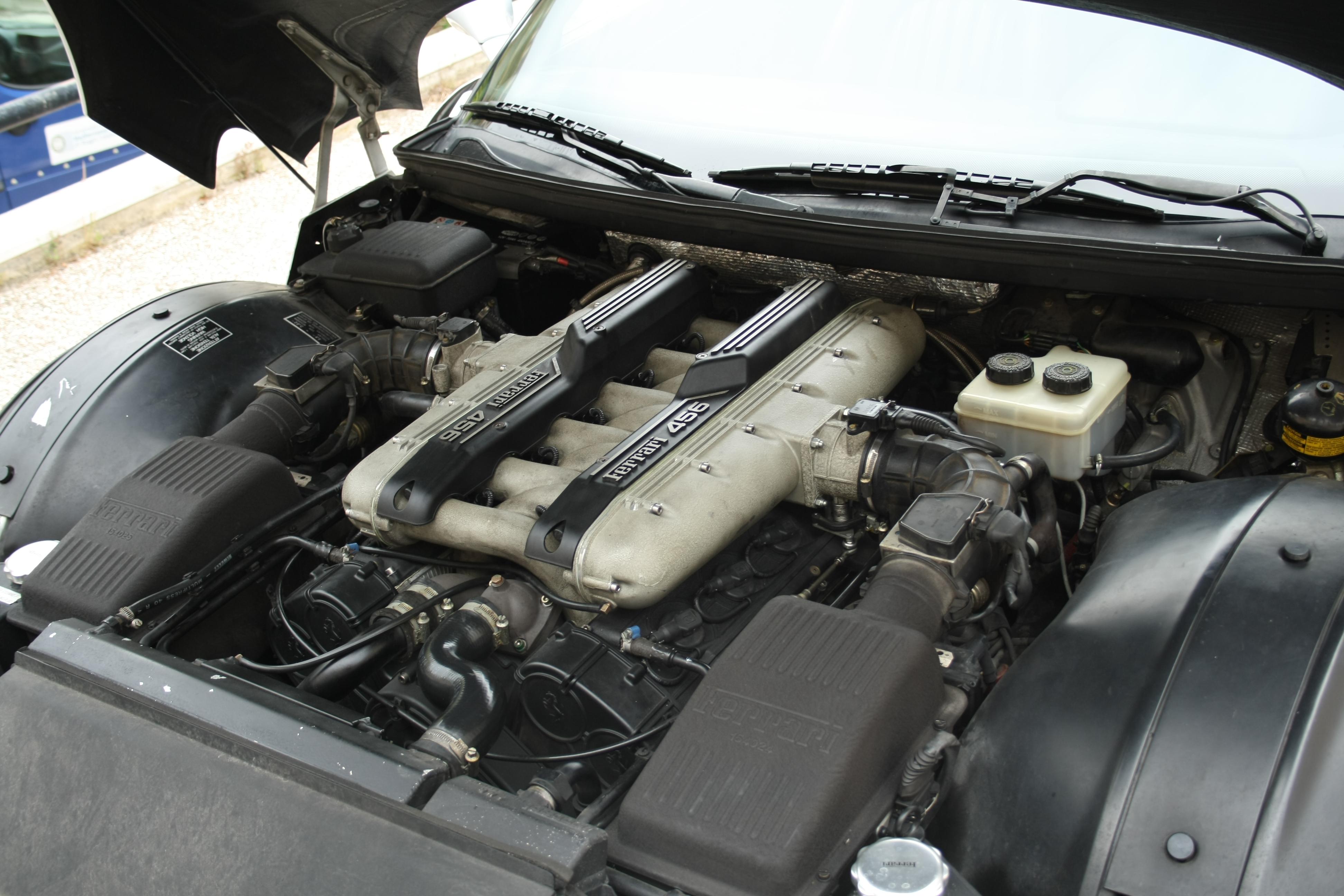 Ferrari Engine Build