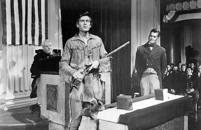 Here we see Davy Crockett talking to Congress in the 50's about SOPA