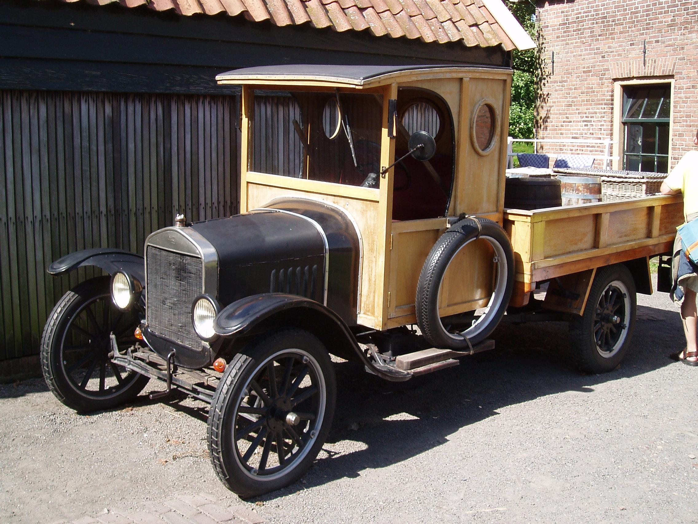 первый автомобиль форд #10