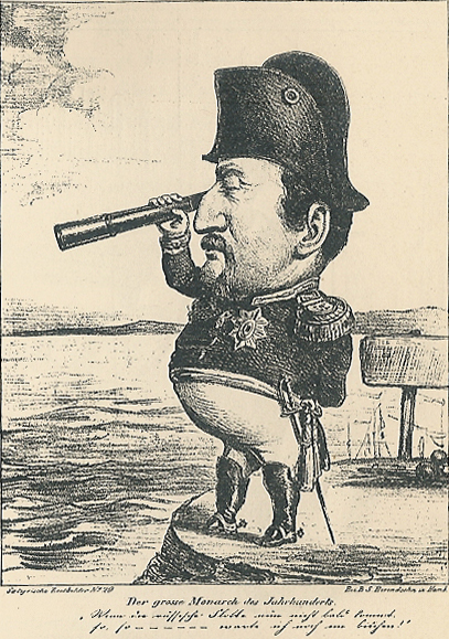 Frederik 7 karikatur