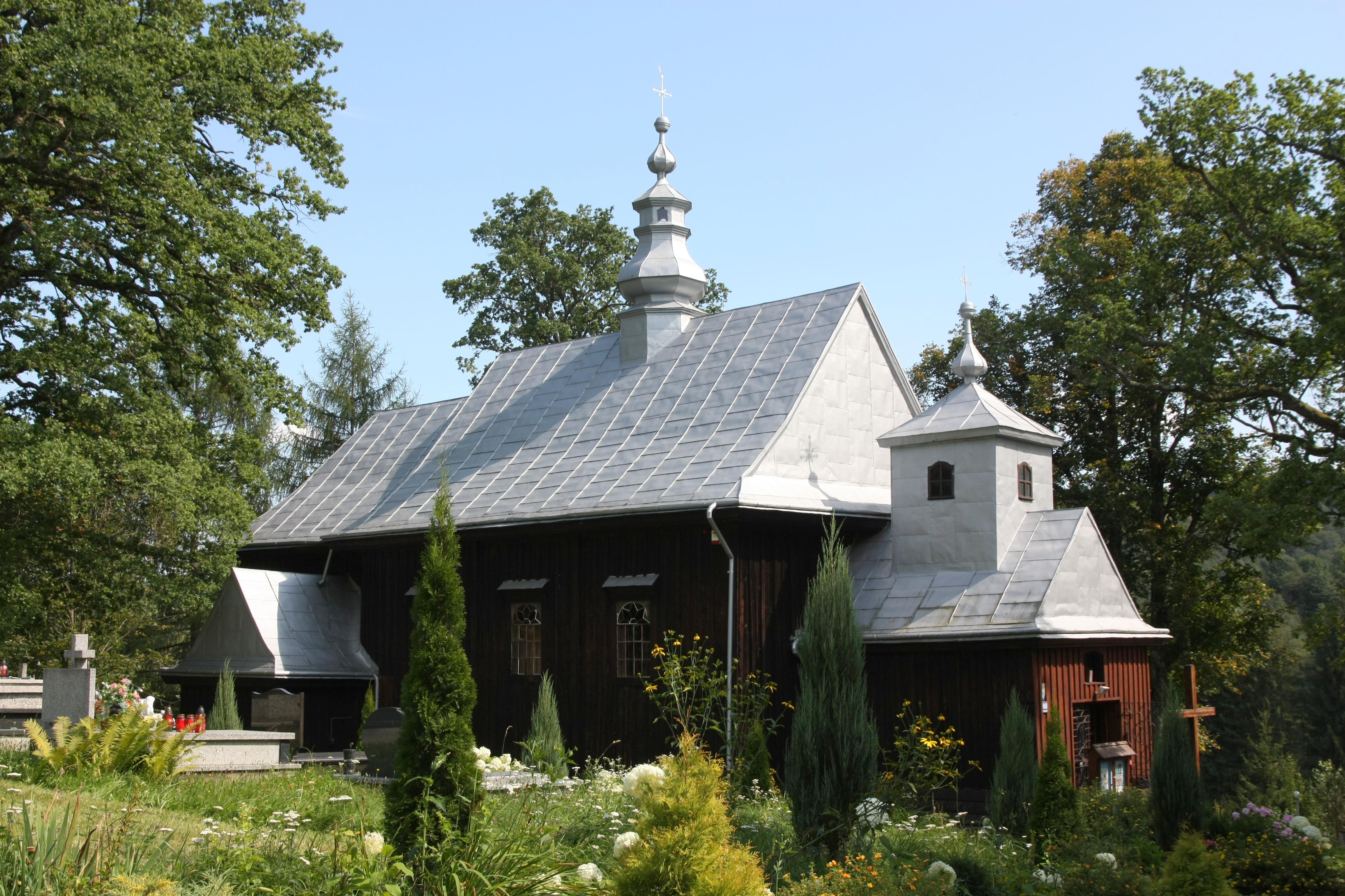 Cerkiew od północnego zachodu