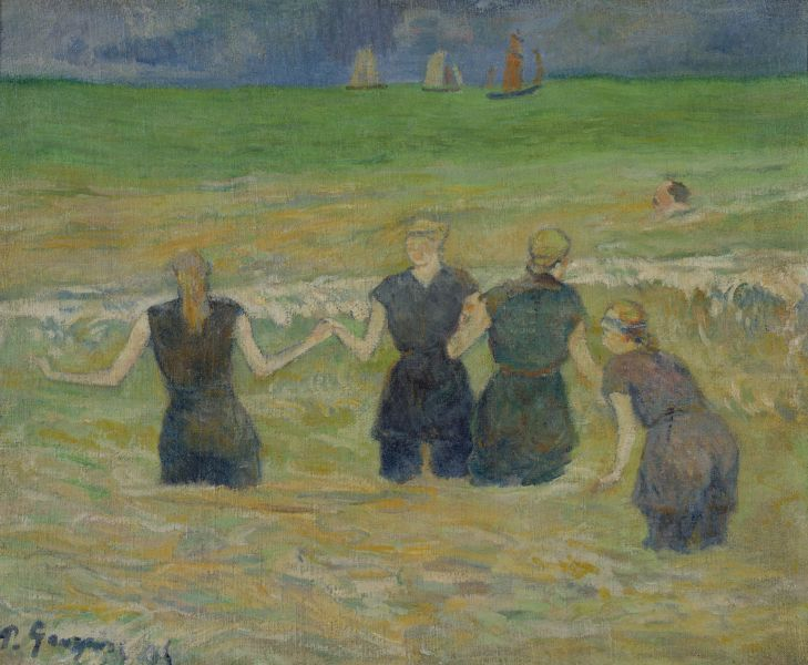 Ficheru:Gauguin Women Bathing.jpg
