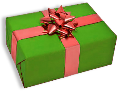 A beautifully wrapped gift that's too good to be true. Tap here to see how you can protect yourself from fraud online