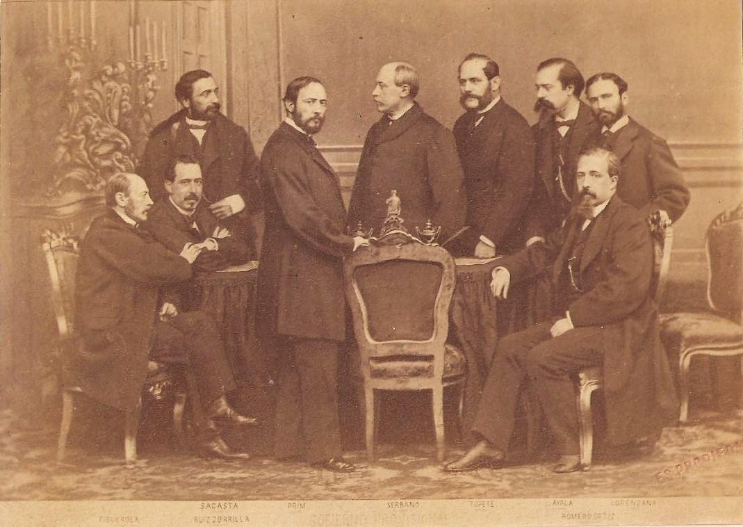 El Gobierno Provisional en 1869